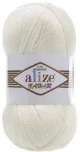 Alize BAHAR 01 кремовый