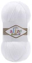 Alize BAHAR 55 белый