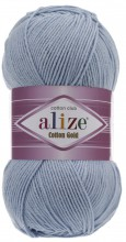 Alize COTTON GOLD 40 голубой