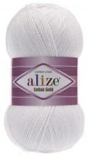 Alize COTTON GOLD 55 белый