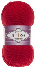 Alize COTTON GOLD 56 красный