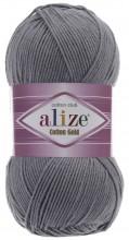 Alize COTTON GOLD 87 угольно-серый