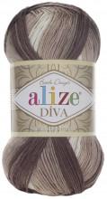 Alize DIVA BATIK 1815 беж-белый