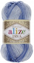 Alize DIVA BATIK 3282 джинс-белый