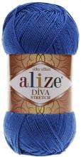 Alize DIVA STRETCH 132 василек