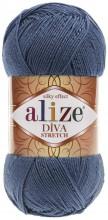 Alize DIVA STRETCH 353 т.джинс