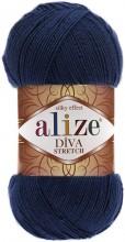 Alize DIVA STRETCH 361 т.синий