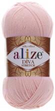 Alize DIVA STRETCH 363 св.розовый