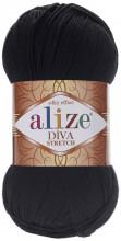 Alize DIVA STRETCH 60 черный