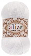 Alize FOREVER 55 белый