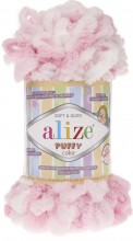 Alize PUFFY COLOR 5863 роз-белый