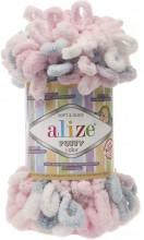 Alize PUFFY COLOR 5864 роз-серый