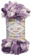Alize PUFFY COLOR 5923 сиреневый принт