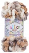 Alize PUFFY COLOR 5926 песочный принт