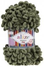 Alize PUFFY FINE 03 хаки