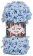 Alize PUFFY FINE 218 бл.голубой
