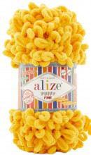 Alize PUFFY FINE 281 желтый