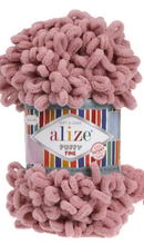 Alize PUFFY FINE 295 розовый