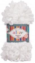 Alize PUFFY FINE 55 белый