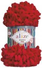 Alize PUFFY FINE 56 красный