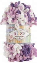 Alize PUFFY FINE COLOR 6067 сирень-фиолет