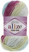 Alize COTTON GOLD BATIK 6519 роз-лимон